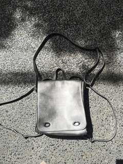 Silver Two-Way Bag (NEVER USED)
