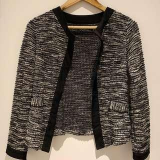 Tweed pattern jacket