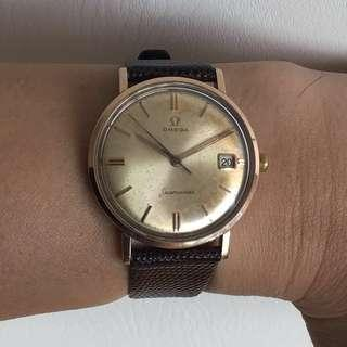 Omega Seamaster Solid Rose Gold Capped