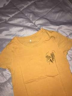 Mustard Yellow Cotton On Top