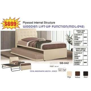 3 in 1 Bedset Available in Single, Super Single