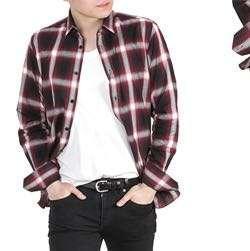 🚚 UNIQLO 男裝 法蘭絨格紋襯衫 (長袖) 紅色 xs