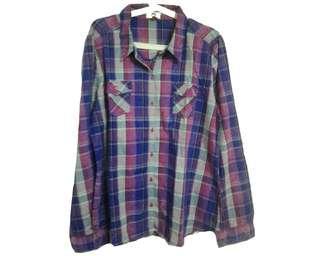 Lei - Boyfriend Shirt (Kemeja Flanel)