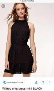 Aritzia Wilfred Mini Effet Dress