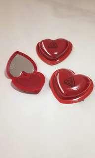 3CE Stylenanda Heart Pot Lip in #WOODYROSE