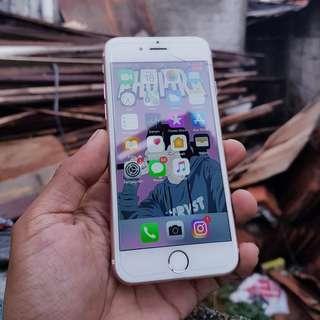 iPhone 6s 64gb rosegold mulus fullset