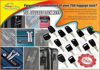 # TSA luggage lock#Do not pry open or break the lock# the damage is permanent#Do not call a locksmith either#For bulk order above 10 pieces #9114 0988