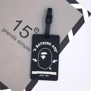 Brand New Luggage Tag (Supreme, Ape)