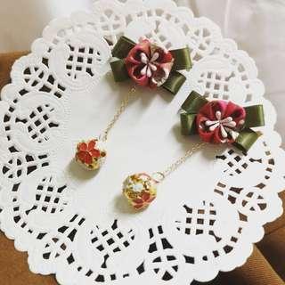 Handmade Japan Fabric Earring (Pre-order) #MakeSpaceForLove