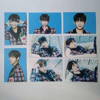 🚚 bts taehyung/v wings tour ver 1 (kr ver) full pc set