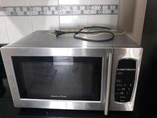 Microwave stainless