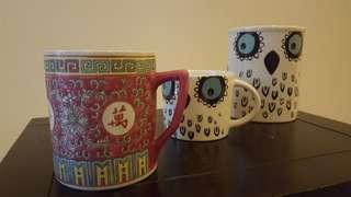 Cangkir Antique & cangir Birdlife design