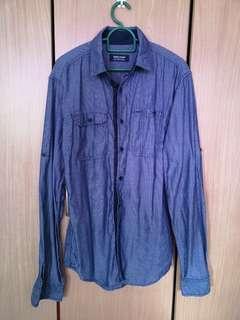 Zara Blue Shirt (S)