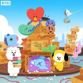 [PO] BT21 ITEMS