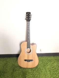全新38吋民謠吉他