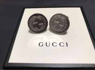 🚚 Gucci 袖釦 全新 超低價