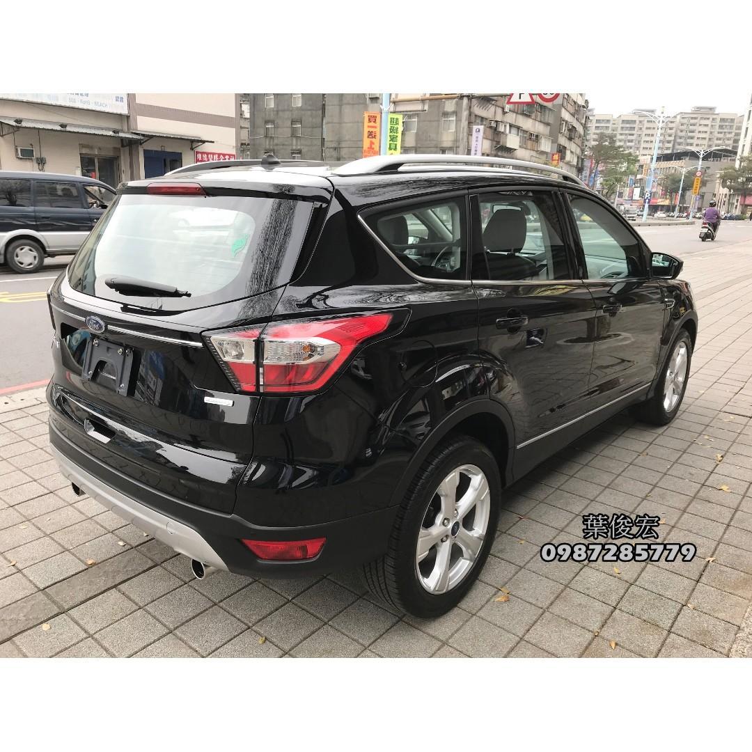 福特原廠認證中古車2018年Ford KUGA 1.5汽油渦輪頂級 試乘車退役 原廠認證 全台延長保固