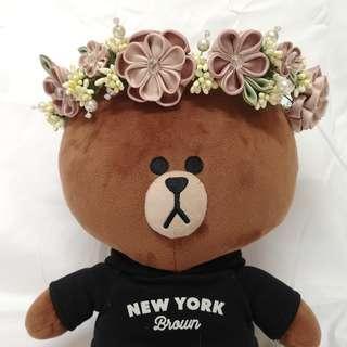 Handmade Japan fabric flower crown (Pre-order) #MakeSpaceForLove