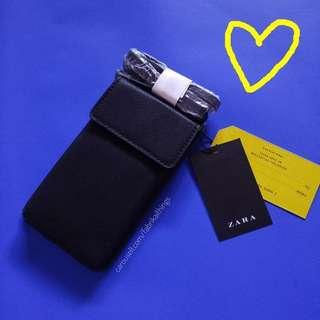 ⬛️ ZARA ⬛️ Crossbody Mobile Case/  Wallet / ID / Credit Card / Bag