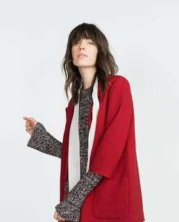 Zara Textured Coat