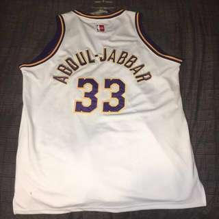 6ec4bd2eae2 Kareem Abdul Jabbar Vintage Basketball Jersey