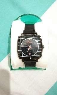 Dior watches (women) Strap magnet tanpa lubang + Free case jam