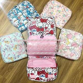 🚚 cute cartoon toiletry bags