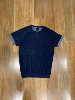 Zara Soft Touch Textured T Shirt