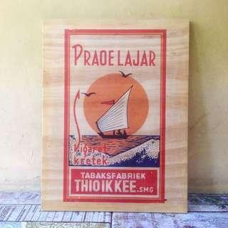 poster kayu rokok