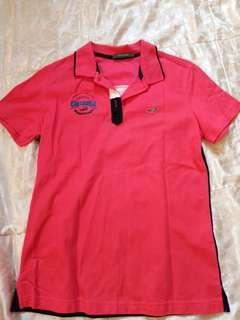 🚚 全新 crocodile 桃紅色短袖上衣 M#半價衣服拍賣會