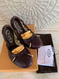 AUTHENTIC Tods ballerina size 37