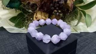 10mm粉紫晶