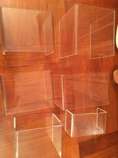 透明亞加力膠架 acrylic display stand