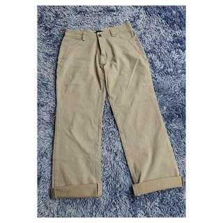 jeans lurus creme