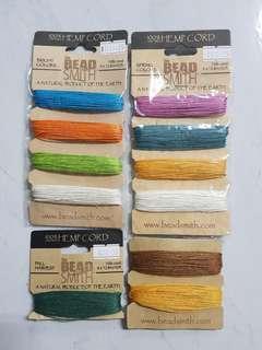 🚚 Beadsmith Hemp Cord