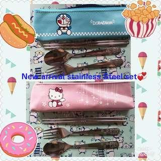 🚚 Fork / spoon / chopsticks stainless Steel set