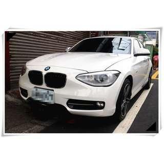 2012年 BMW 118i 1.6 車在桃園 白色 可保固 省油省稅 116i 118i sport