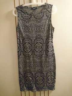 Forever 21 Cotton Bodycon Dress