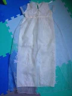 Baptismal gown for baby boys