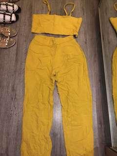 Yellow ONE SET