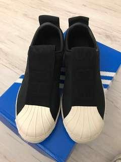 🚚 Adidas superstar slip on