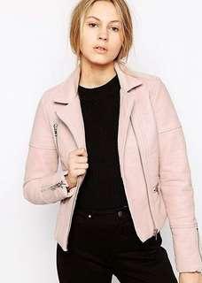 Barney original pink biker jacket