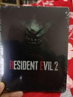 Resident Evil 2 Remake Europe Steelbook