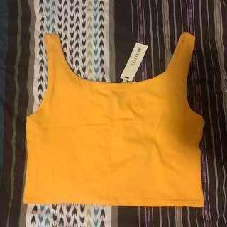 Buttercup everyday cropped tank
