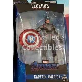 [Pre-Order] Hasbro Marvel Legends 6 inch BAF Armored Thanos Wave - Captain America (Quantum Realm suit)