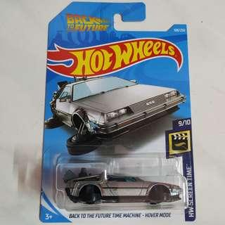 Hot Wheels - Back To The Future Time Machine - Hover Mode