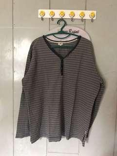 Gray Black Sweater #paydaymaret