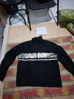 jacket hoodie tracktop X-Large