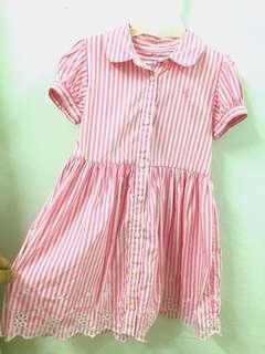 Size 24mo Authentic Ralph Lauren Eyelet Shirt Dress