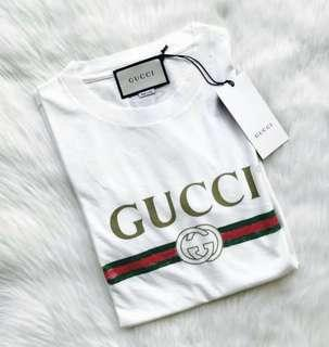 🔥Authentic GUCCI CLASSIC LOGO Tee